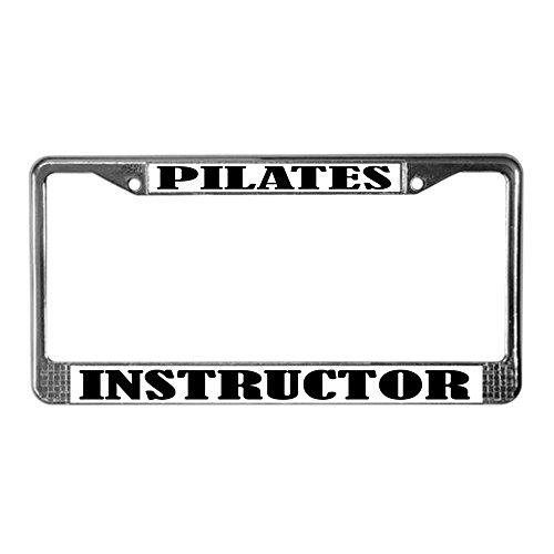 pilates license plate frame - 4