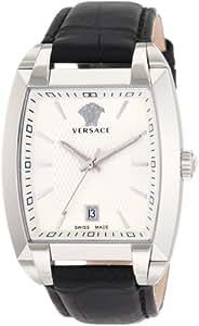Versace Men's WLQ99D002 S009 Character Tonneau White Dial Watch