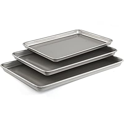 Emeril Lagasse 62672 Aluminized Steel Nonstick Large Cookie Sheet