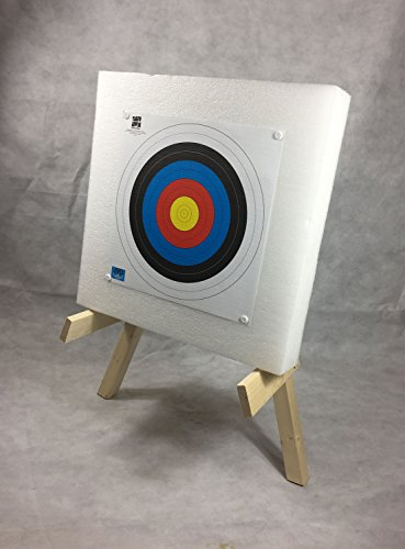 ASD Leisure/Garden Archery Package 60x60cm Self Healing Foam Target Boss  With Stand and 10 Target Faces