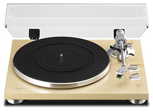 TEAC TN-300 Analog Turntable with Built-in Phono Pre-amplifier & USB Digital Output (Natural) 41vE02lSEdL