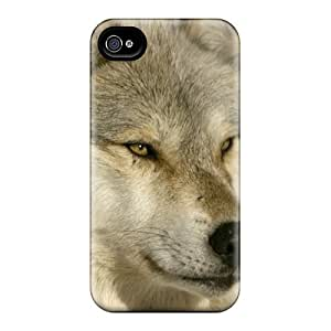 For ETkjlgG6808dRWSM Nordic Wolf Protective Case Cover Skin/iphone 4/4s Case Cover