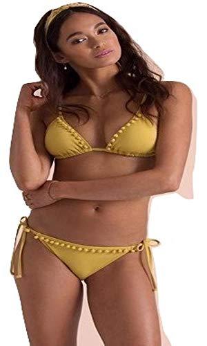 Billabong Last Sun Triangle Bikini Top CIS-Citrus S