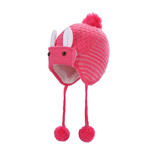 Chapeau Rose Red Rabbit Acvip fille Bébé H8zwR
