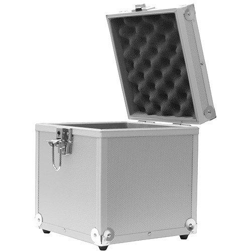 Acc-Sees - Valigetta in alluminio per vinili, contiene fino a 50 dischi 45 giri ALCS50