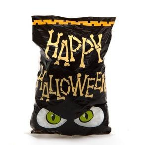 Cute Halloween Treats For School (Mini Happy Halloween Cellophane Bags (50 Bags) - Party Favor Goody Bags)