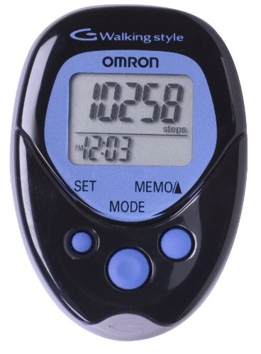 Omron Hj-113 Pocket Pedometer, Walking Style, Black by Omron