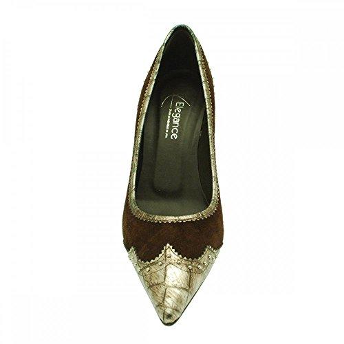 De Para Zapatos Marrón Lorbac Vestir Ante Mujer 48n7q1w5x