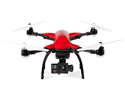World Tech Toys Elite Recon Follow Me GPS Live View 4K Camera 2.4GHz 4.5 Channel Remote Control Quadcopter Drone, Red, 12.25 x 12 x 6 by World Tech Toys