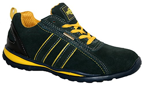 Footwear Studio, Stivali uomo Navy/Yellow