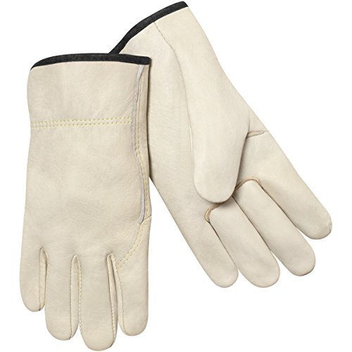Gloves Unlined Premier - Steiner 0242-2X Drivers Gloves, Premium Grain Cowhide Unlined Kevlar Sewn, 2X-Large