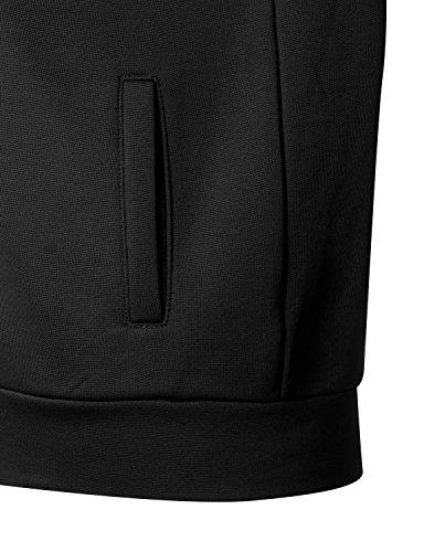 Regna X Love Coated Women Benton Springs Full-Zip Hoodie Fleece Jacket Black S by Regna X (Image #6)