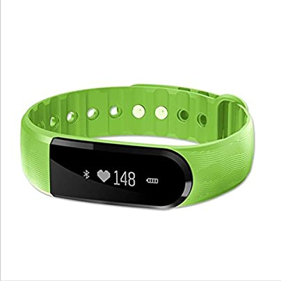 LL-Smart Band Touch Screen Call Reminder Music Camera Remote Control Wristband Bracelet Fitness Tracker Heart Rate Monitor Estimated Price £54.00 -