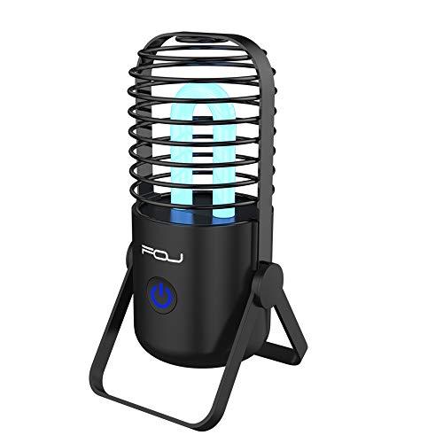 UV Sanitizer Lamp, Portable UV-C Air Purifier, Sterilizer Lamp Light, Remote control UV Ozone Disinfection Light Kill Bacterial Virus Mites for Room Odor Remover, Car, Fridge, Shoes