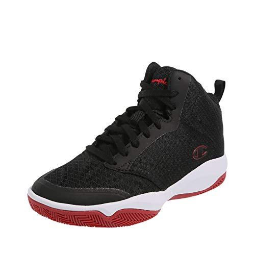 - Champion Boys' Red Black Boys' Inferno Basketball Shoe 6 Regular