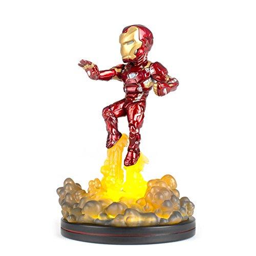 QMx Iron Man Light-Up Q-Fig FX Diorama