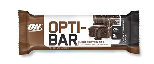 Optimum Nutrition Opti-Bar, Chocolate Brownie, 12 Count