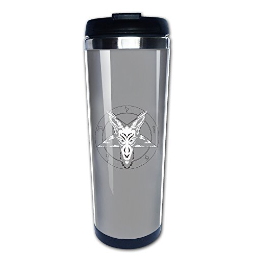 Baphomet Satan Tea Mugs Stainless Steel Coffee Cup