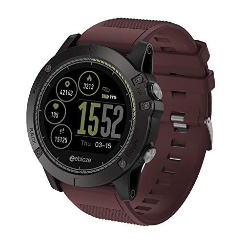 Zeblaze Bluetooth Reloj Inteligente con Pulsómetro Pulsera ...