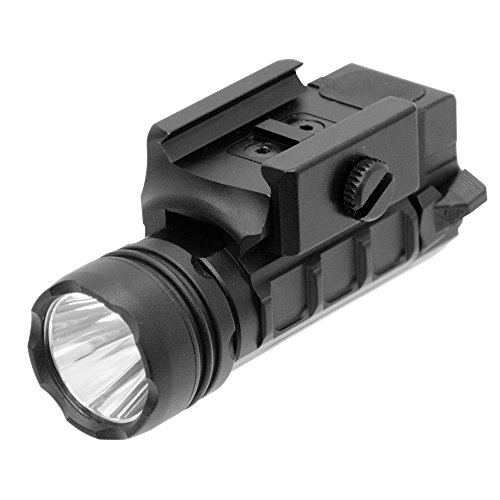 UTG LT-ELP123R-A 400 lm Sub-Compact LED Ambi Pistol Light (Best Budget Flashlight For Ar15)