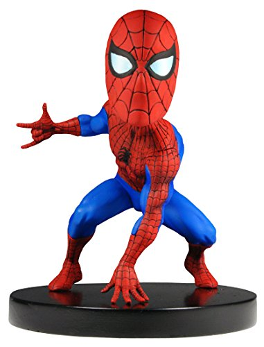 NECA Marvel Classics Head Knocker Spiderman Toy