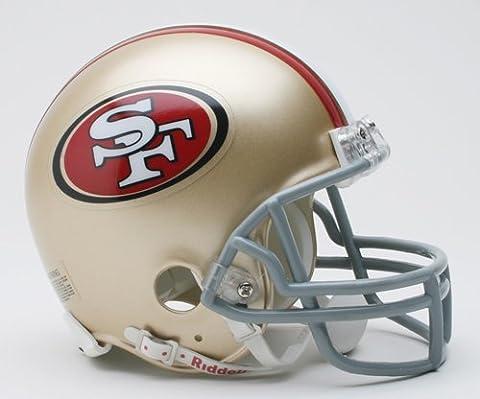 NFL San Francisco 49ers Replica Mini Football Helmet - San Francisco 49ers Nfl Football