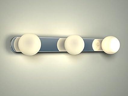 Brazos iii illuminazione per bagno applique da parete lampada da