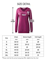 Regna X BOHO Women's Long Sleeve Tunic Pullover Sweatshirts