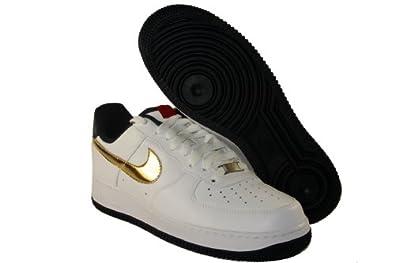 promo code 7262b 3e56c Nike AIR Force 1 07 - Grey Box (10, WhiteMetallic Gold
