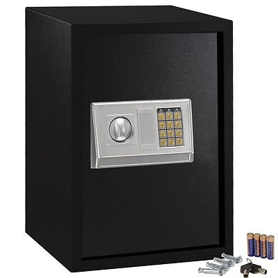 Large Digital Electronic Safe Box Keypad Lock Security Home Office Hotel Gun New