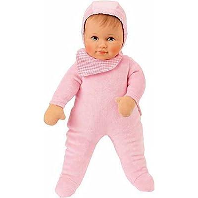 Käthe Kruse baby doll Leoni avec un foulard individualisé