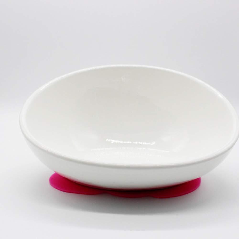 LIUQIAN Pet Bowl anti-skid ceramic dog bowl cat bowl Cat dog food basin tableware