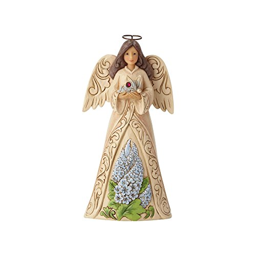 Enesco Jim Shore Heartwood Creek July Angel