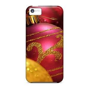 Hot Design Premium QEA6632rDkj Tpu Case Cover Iphone 5c Protection Case(christmas Ornament)
