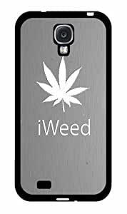 iWeed Gray Background - Phone Case Back Cover (Galaxy s4 - plastic)