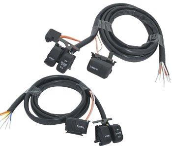 V-Factor 12093 Black Handlebar Switch Wiring Kit for All Models 1996/2006
