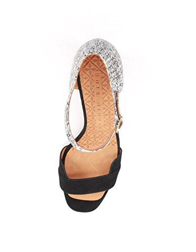 Chie Mihara Sorte Hæle Sandaler Med Sort RNxGkIb4Ga