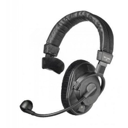 Beyerdynamic DT-280-MKII-200-80 Single-Ear Headset with Dynamic Hypercardioid Microphone, 80 Ohms