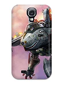 ZippyDoritEduard Case Cover Protector Specially Made For Galaxy S4 Robot Sci Fi People Sci Fi
