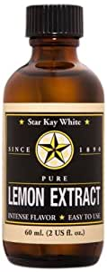 Star Kay White Extracts Pure Extract, Lemon, 2 Ounce