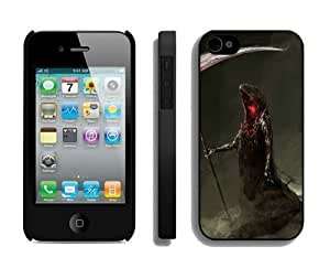 2014 New Style Halloween iPhone 4 4S Case 17 Black