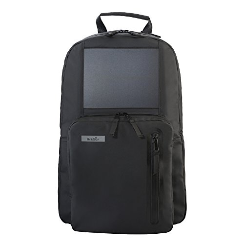Birksun Solar Backpack (Mythos Black) by Birksun
