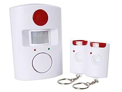 Detector de movimiento con función de alarma; acústico y señal óptica