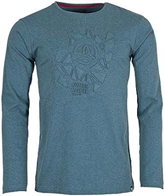 Ternua Gohana Shirt M Camiseta de Manga Larga, Hombre, Azul (Dark Lagoon): Amazon.es: Deportes y aire libre