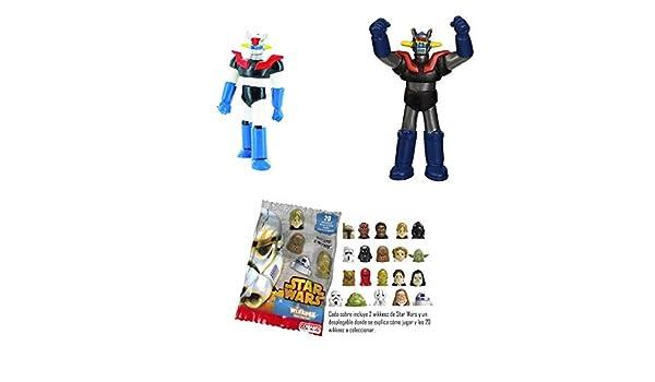 Lote 2 Figuras Comansi Mazinger Z + Regalo: Amazon.es: Juguetes y juegos