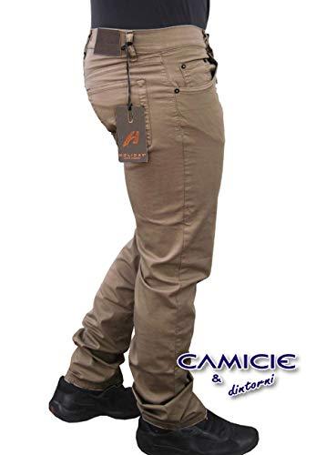 52 Pantalone mezza 50 58 In Fango 48 Italy Uomo Comfort Jeans Elasticizzati StagioneMade 54 Holiday Tg46 56 60 269 Cotone ModPanamapesante BrQCxoeWd