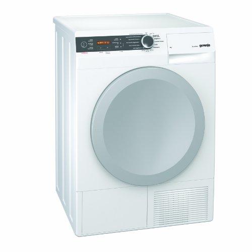 Gorenje D 8666 N Kondenstrockner FL / A+++ / 8 kg / weiß / Wärmepumpentrechnologie / IonTech-Ionensystem / Knitterschutz