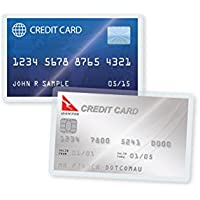 TruLam 10 Mil Credit Card Laminating Pouches 2-1/8 x 3-3/8 Inches, 500 per Box (LP10CRD)