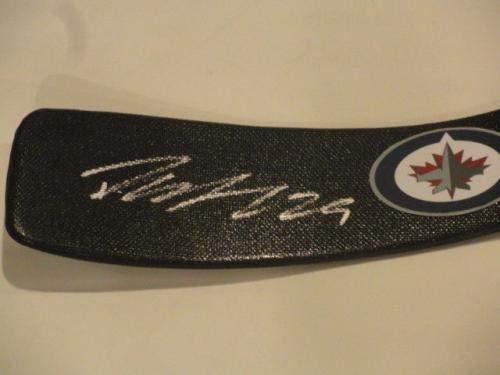 Patrik Laine Autographed Stick Sherwood Calder Proof Finland Autographed NHL Sticks