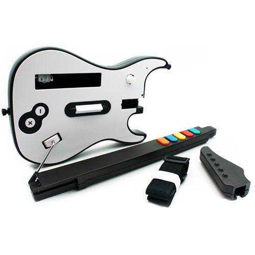 Wii Wireless Guitar Dongle Receiver for Rock Band 1 Fender Guitar ()
